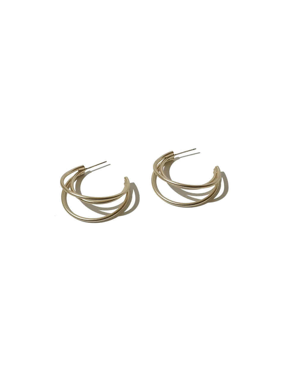 3curve ring earrings
