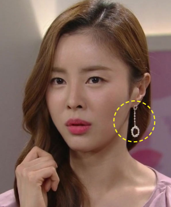 [한혜린착용] In full bloom_unbalanced drop earrings